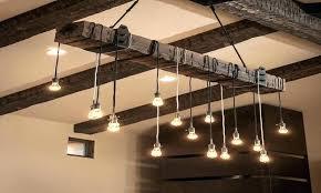 wood beam chandelier resolution rustic industrial chic barn wood beam chandelier