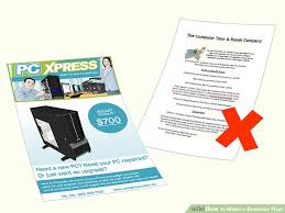 How To Make A Business Flyer How To Make A Business Flyer 8 Steps With Pictures Wikihow