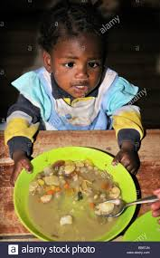 Soup Kitchen Meal Poor Girl In A Soup Kitchen Cordoba Argentine Stock Photo