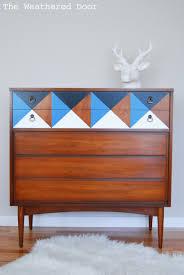 Diy Mid Century Modern Dining Table Mid Century Modern Dressers Get Custom Diy Makeovers