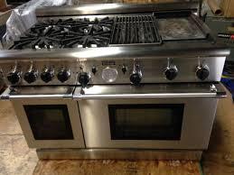 thermador gas stove. thermador pg484ggbs 48\ gas stove
