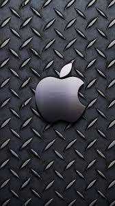 metallic pattern apple logo iphone 6 wallpaper