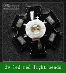 <b>High Power</b> 3w Led <b>Plant</b> Growth Light Beads Red 655-660 Nm 70 ...