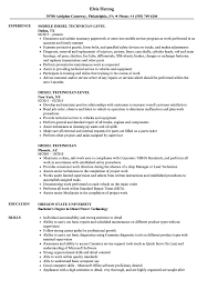 Diesel Technician Resume Samples | Velvet Jobs