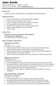 Chronological Order Resume Example Sample Inspirational Examples Of