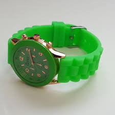 amazing deals on designer mens watches uk delivery stylish mens green silicone w rose gold fashion watch by cheeky he 13