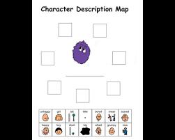 Story Grammar Character Map Story Grammar Marker