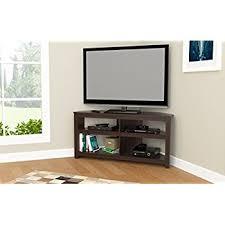 corner tv stand. inval mtv-13519 espresso wengue wood 50\ corner tv stand o