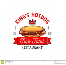 fast food restaurant logos crown. Unique Crown Download Hot Dog Restaurant Fast Food Vector Icon Stock   Illustration Of Cinema King And Logos Crown