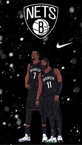 His jersey number is 11. Brooklyn Nets Wallpaper Gonets