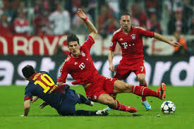 Maybe you would like to learn more about one of these? Crumpling The Catalonians Fc Bayern Munchen Drop Barcelona 4 0 Bavarian Football Works