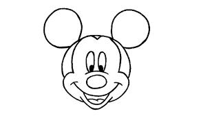 Comment Dessiner Mickey Mouse Pas Pas Disney Youtube
