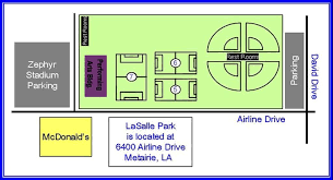 Zephyr Field Seating Chart Lasalle Park