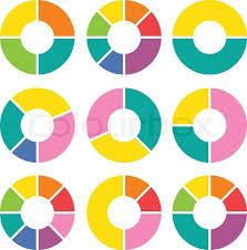 Vector Circle Arrows For Infographic Stock Vector Colourbox