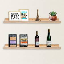 floating picture ledge display shelves