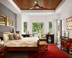 Asian interior bedroom design