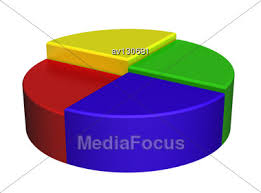 Color Volume Circular Chart As Schedule Of Achievements