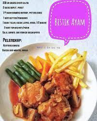 Cara membuat bistik daging sapi info unik april 2015. Met Malam Moms Hasil Karya Hari Ini Numpang Lewat Si Bistik Ayam Daging Ayam Cincang Dengan Saus Bistik Asam Manis Bisa Jadi