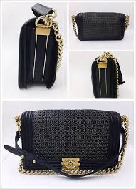 Chanel Black Gold Woven Calf Leather Quilted Boy Flap Shoulder Bag ... & Chanel Quilted Boy Quilted Boy Flap Lambskin Shoulder Bag. 123 Adamdwight.com