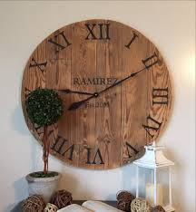 large wall clock personalized gift
