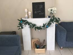make a faux fireplace out of boxes such a fun idea for