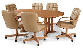 dining room sets with casters chairs. dining sets with casters on chairs room m