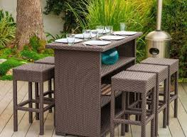outdoor bar height table and chair sets. full size of patio \u0026 pergola:bar height bistro set bar sets clearance outdoor table and chair