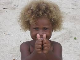dark skinned blonds discovered