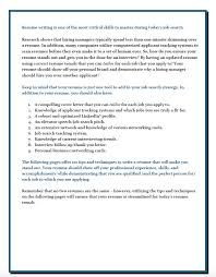 Resume Writing 101 Simple Your Essay Writer Armil Construction Company Inc Resume Search