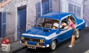 Renault 12 Gordini scale model