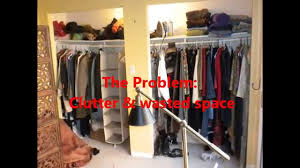 diy closet makeover economical organization with a sitting area too you