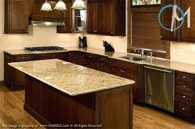 cherry cabinets with quartz granite kitchen gray wall and ideas countertops w