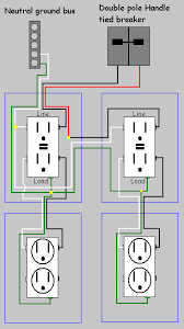 electrical how do i replace two split receptacles gfci gfci wiring on a shared neutral