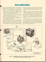 motorcraft alternator wiring schematic wiring diagram and 12v motorcraft alternator not char yesterday 39 s tractors