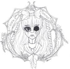 Melanie Martinez Coloring Pages Highfiveholidayscom