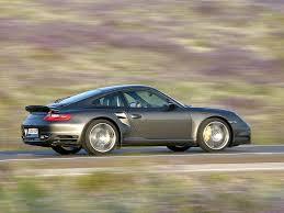 2007 Porsche 911 Turbo - Side Angle Speed - 1024x768 - Wallpaper