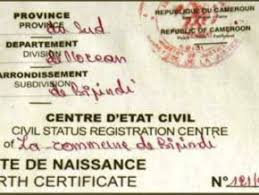 Kumba Is The Haven For Fake Birth Certificates