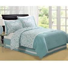 Jasmine Aqua King-size Comforter Set - Overstock.com &  Adamdwight.com