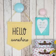 Hello Sunshine Pastel Banner