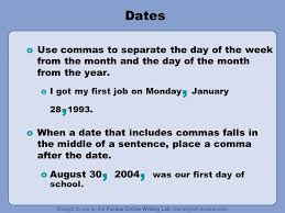 Conquering The Comma What Is A Comma Commas Break Up