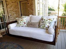 hanging daybed porch swing