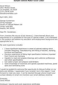 Cabinet Maker Cover Letter 3 2017 Uxhandy Com. Appice Carpenter Resume  Sample