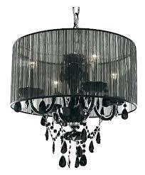 black chandelier lamp shades and white striped checked chandeliers