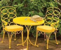 yellow patio furniture. Various Best 25 Yellow Outdoor Furniture Ideas On Pinterest Home Of Patio  Yellow Patio Furniture
