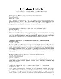 ideas collection sample resume volunteer experience in service work  template templates