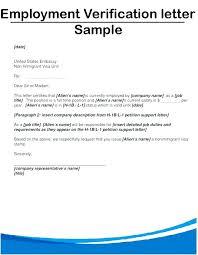 Free Employment Verification Letter – Pitikih