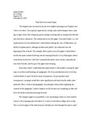 kindred essay dennis flynn mr jones section history of  2 pages final self assessment paper