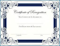 Award Certificate Templates Free Free Customizable Award Certificate Templates 605