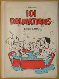101 dalmatians lots of spots bath book walt disney 9780453030779 amazon books