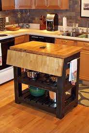 Drop Leaf Butcher Block Kitchen Island #pinterestingrenters #forrent.com Images
